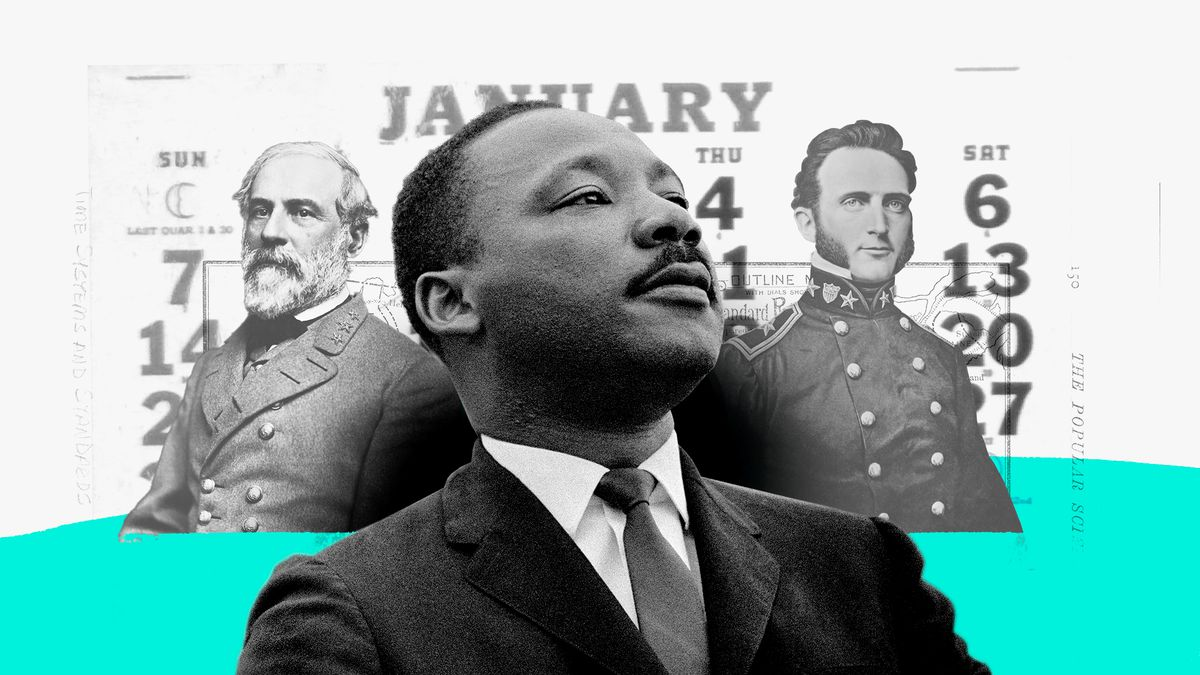Martin Luther King Jr Day Is Called Something Else In A Number Of States Vox