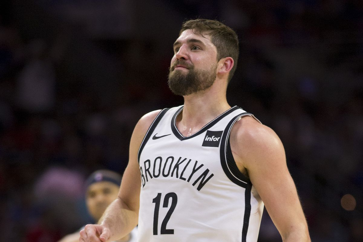 super popular b4bf7 b858a Joe Harris discusses his new teammates; Nets 'owning' one ...