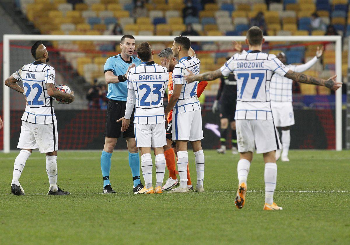 UEFA Champions League: Shakhtar Donetsk vs Inter Milan