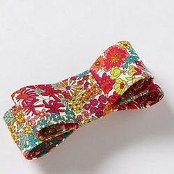 """Anthropologie Structured Bow Clip: $38 at <a href=""""http://www.anthropologie.com/anthro/product/accessories-hair/27876572.jsp"""">Anthropologie.com</a>"""
