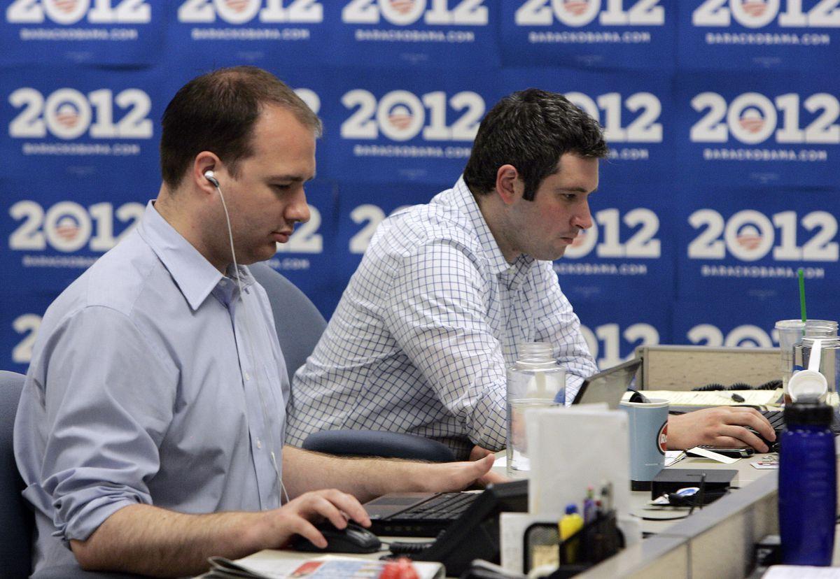 obama campaign computers