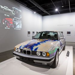 What It S Like To Take An Exclusive Ride In A Bmw Art Car