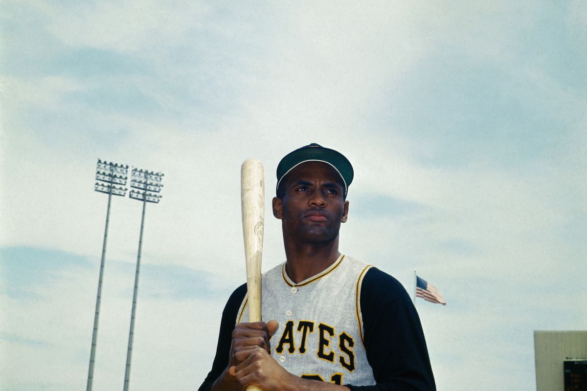 Pittsburgh Pirates Outfielder Roberto Clemente