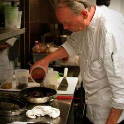 Chef McBride prepping.