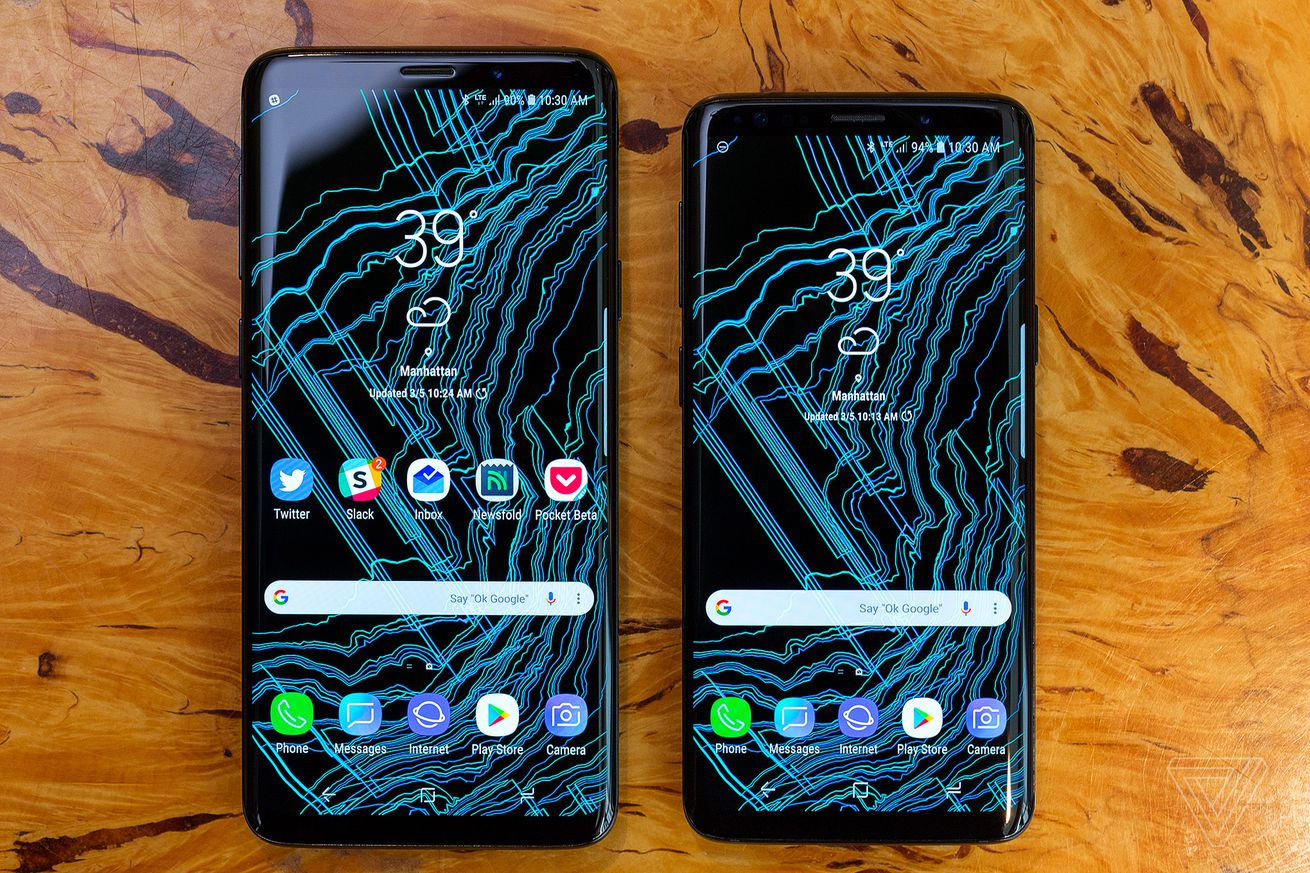 the samsung galaxy s9 is now available
