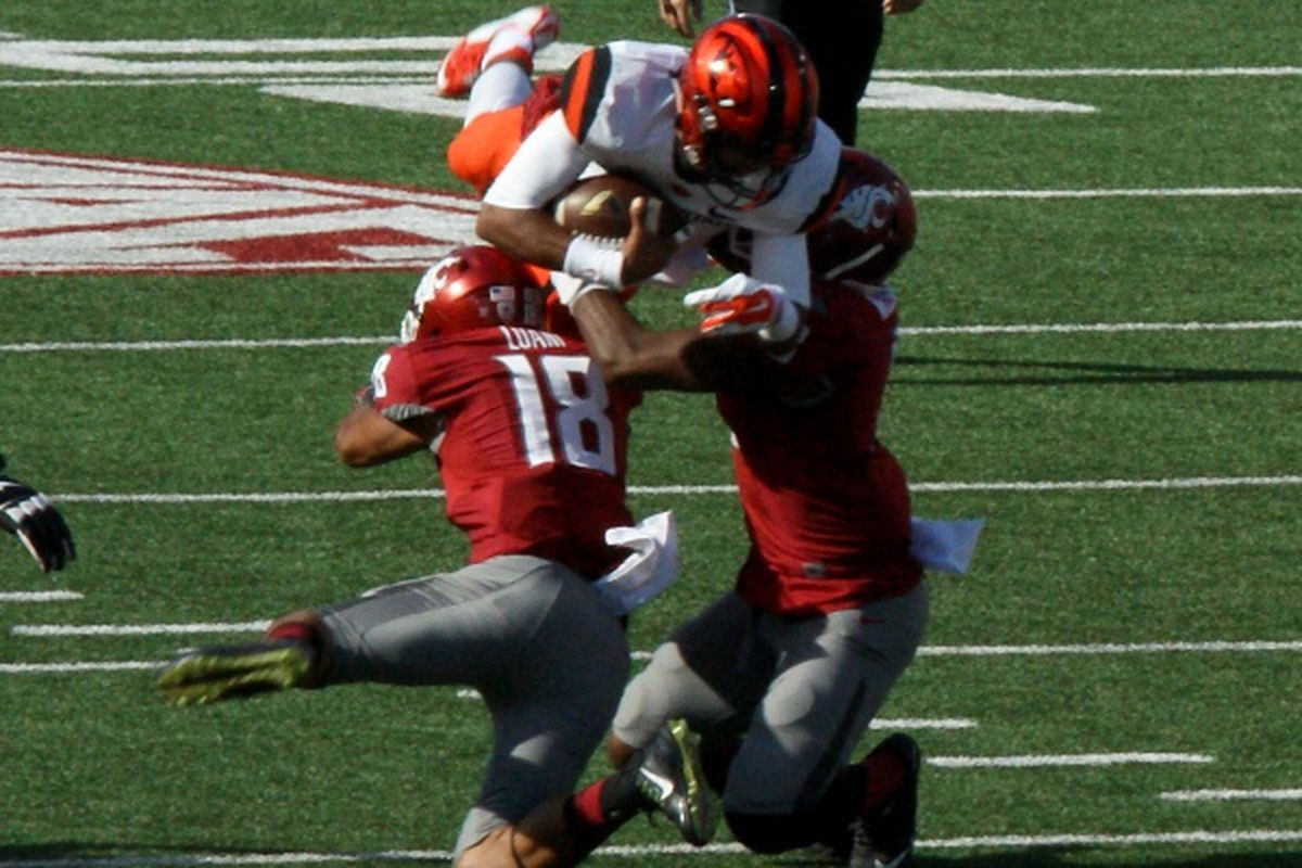 Seth Collins has made his last highlight leap for Oregon State.