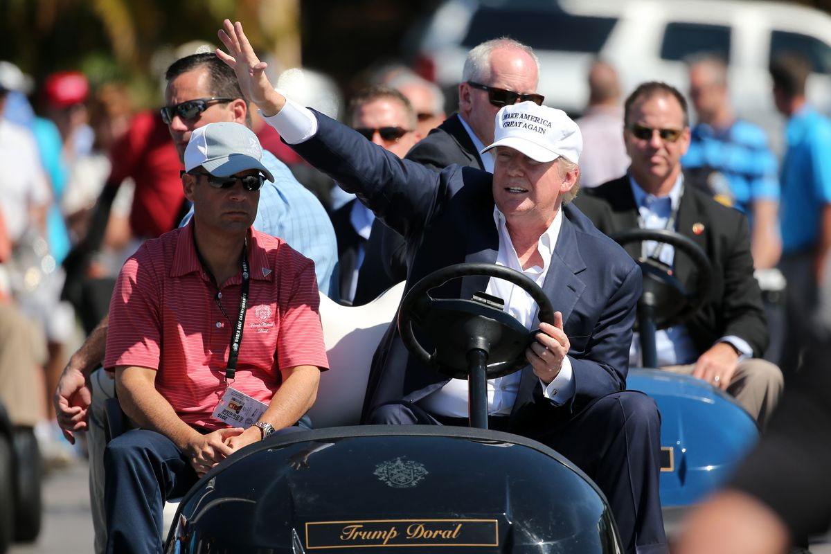 Does Donald Trump 'cheat like hell' when he's playing golf?