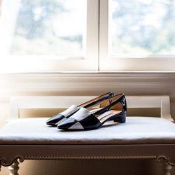 Maud Frizon checkerboard shoes