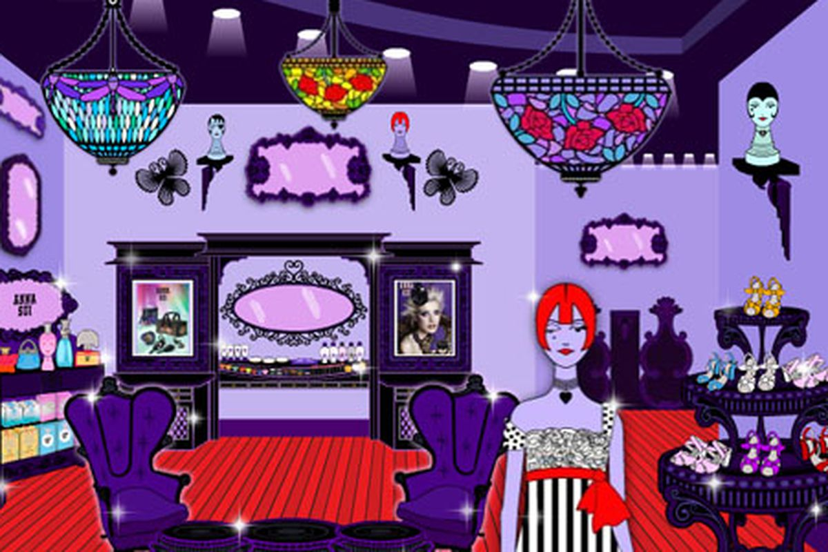 """Suddenly, there's a lot more competition for your disposable income: Buy Anna Sui online, from Anna Sui! Screenshot via<a href=""""http://shop.annasui.com/""""> Anna Sui</a>"""