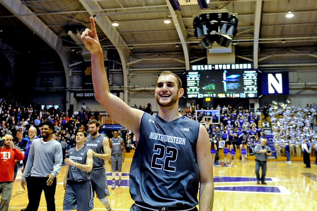 Alex Olah is the key for Chris Collins and Northwestern basketball