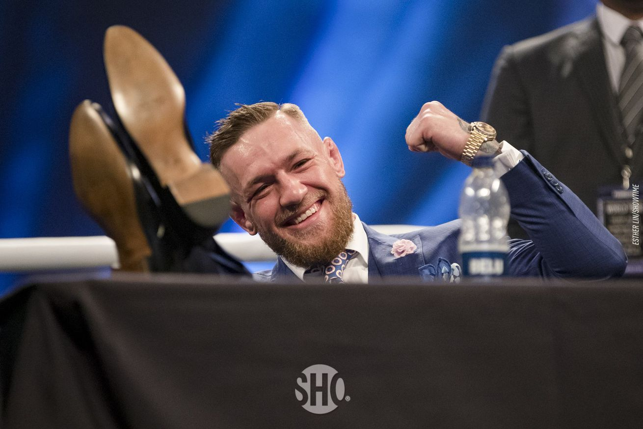 Morning Report: Conor McGregor says he's interested in fighting Khabib Nurmagomedov in Russia next