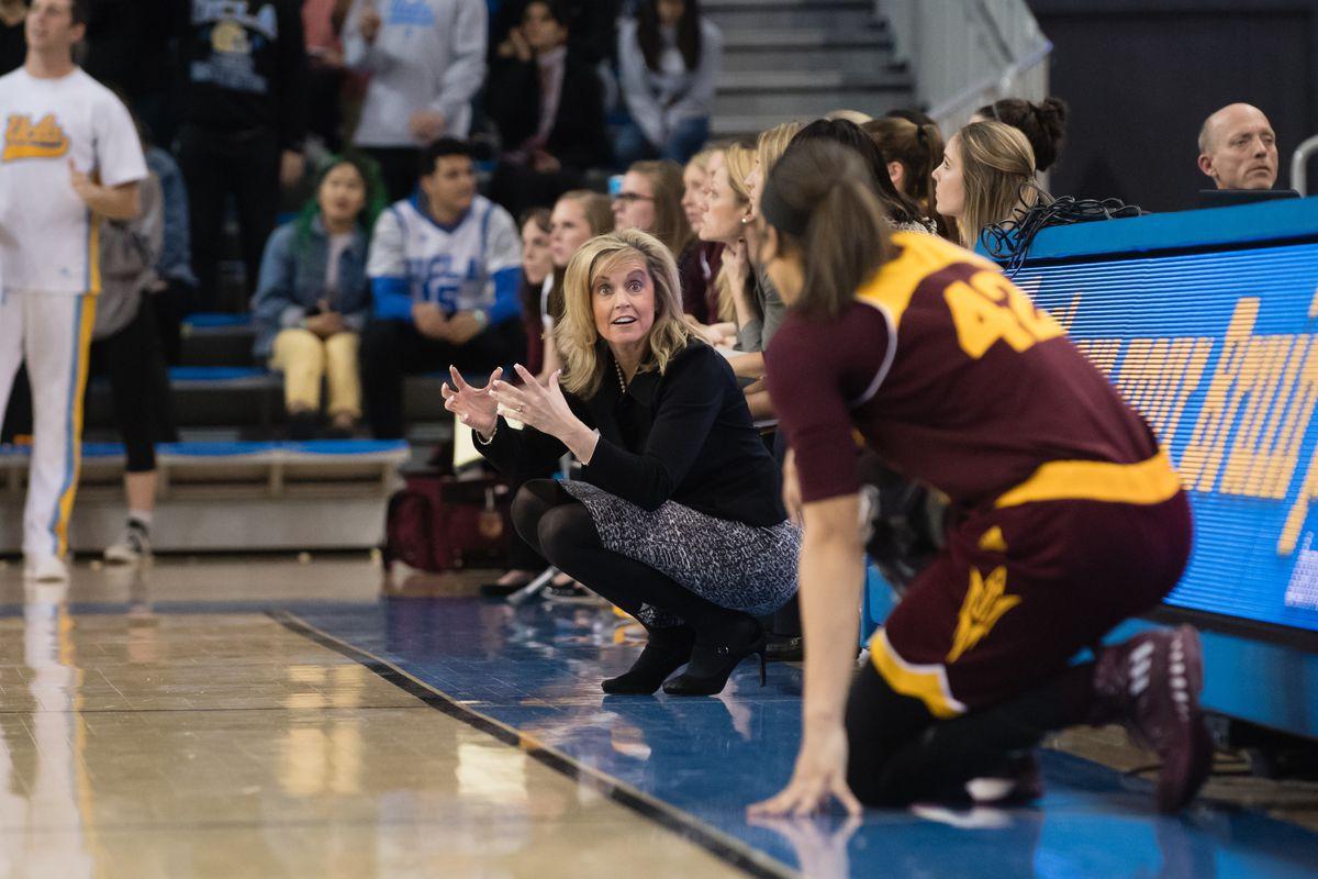 COLLEGE BASKETBALL: JAN 27 Women's - Arizona State at UCLA