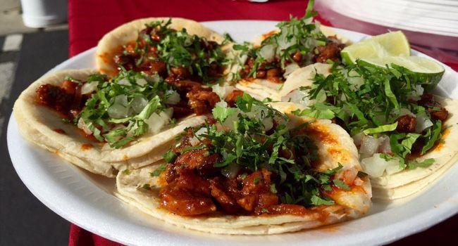 Tacos from El Molino in Concord
