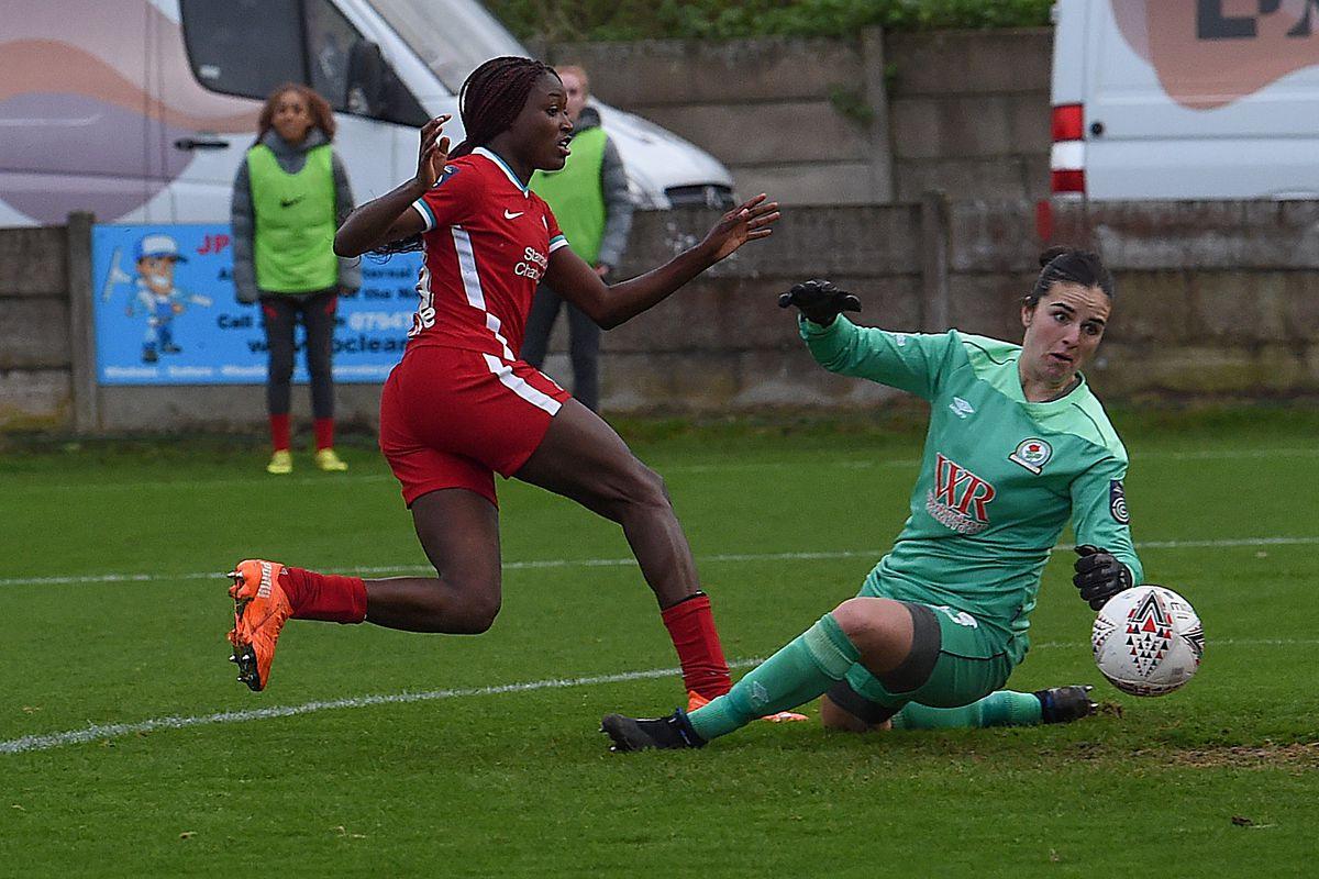 Blackburn Rovers v Liverpool - Barclays FA Women's Championship