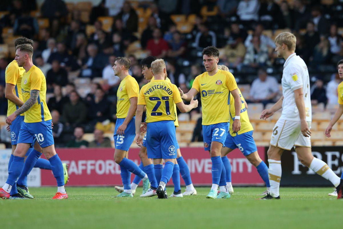 Port Vale v Sunderland - Carabao Cup First Round