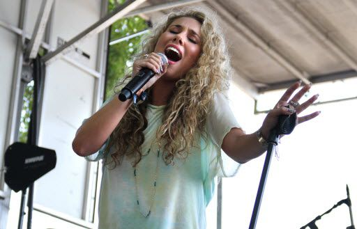 Haley Reinhart performs on the BMI stage at Lollapalooza on Friday, August 3, 2012, in Grant Park. | Sun-Times file photo
