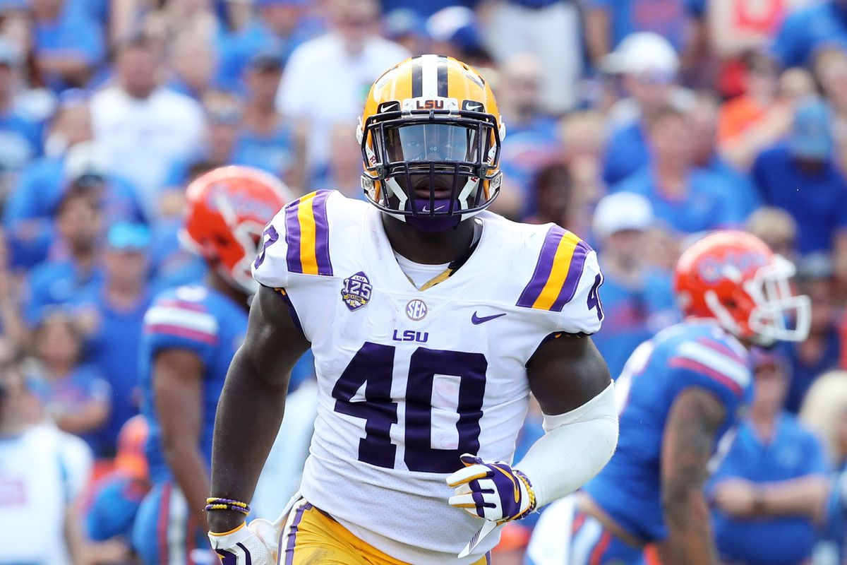 info for 1eada 04a70 Devin White targeting suspension vs. Alabama: wide-ranging ...