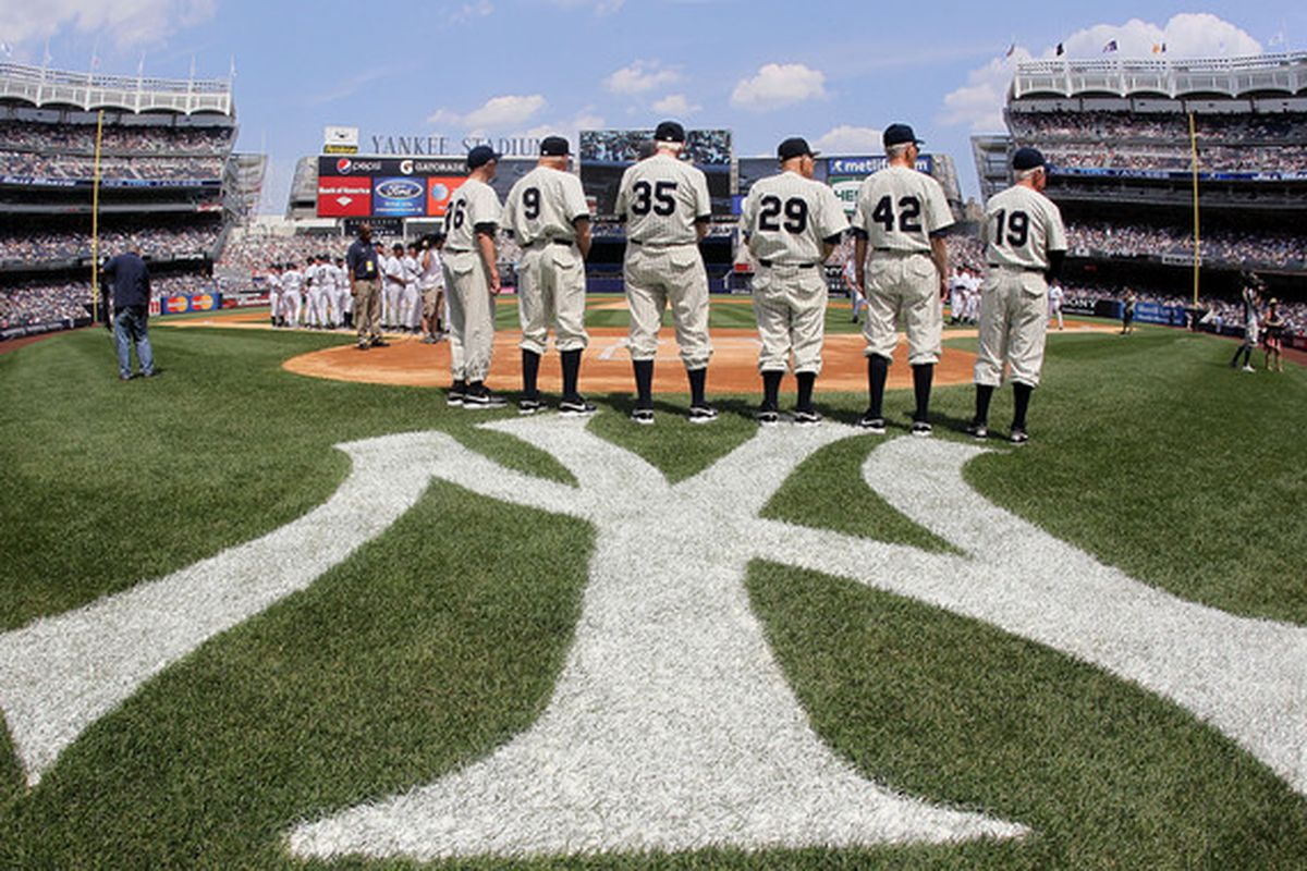 Based on recent commentary, one might come away with the impression that the Yankees have been trotting out an Old Timer's Day lineup.