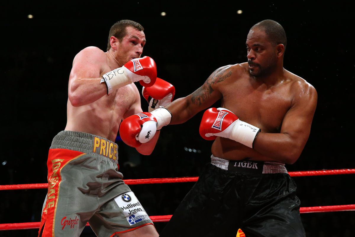 Price and veteran boxer Tony Thompson