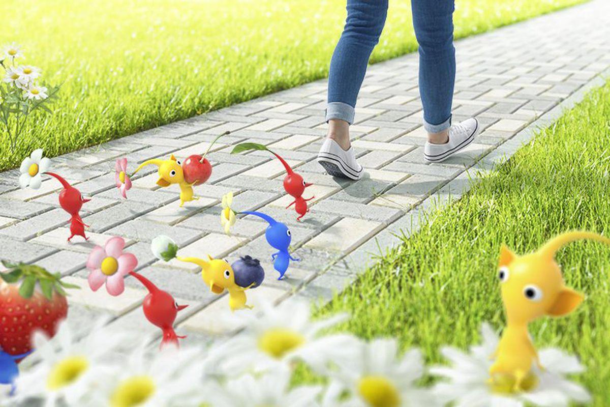 Nintendo announces new Pikmin AR game from Pokemon Go maker Niantic -  Polygon