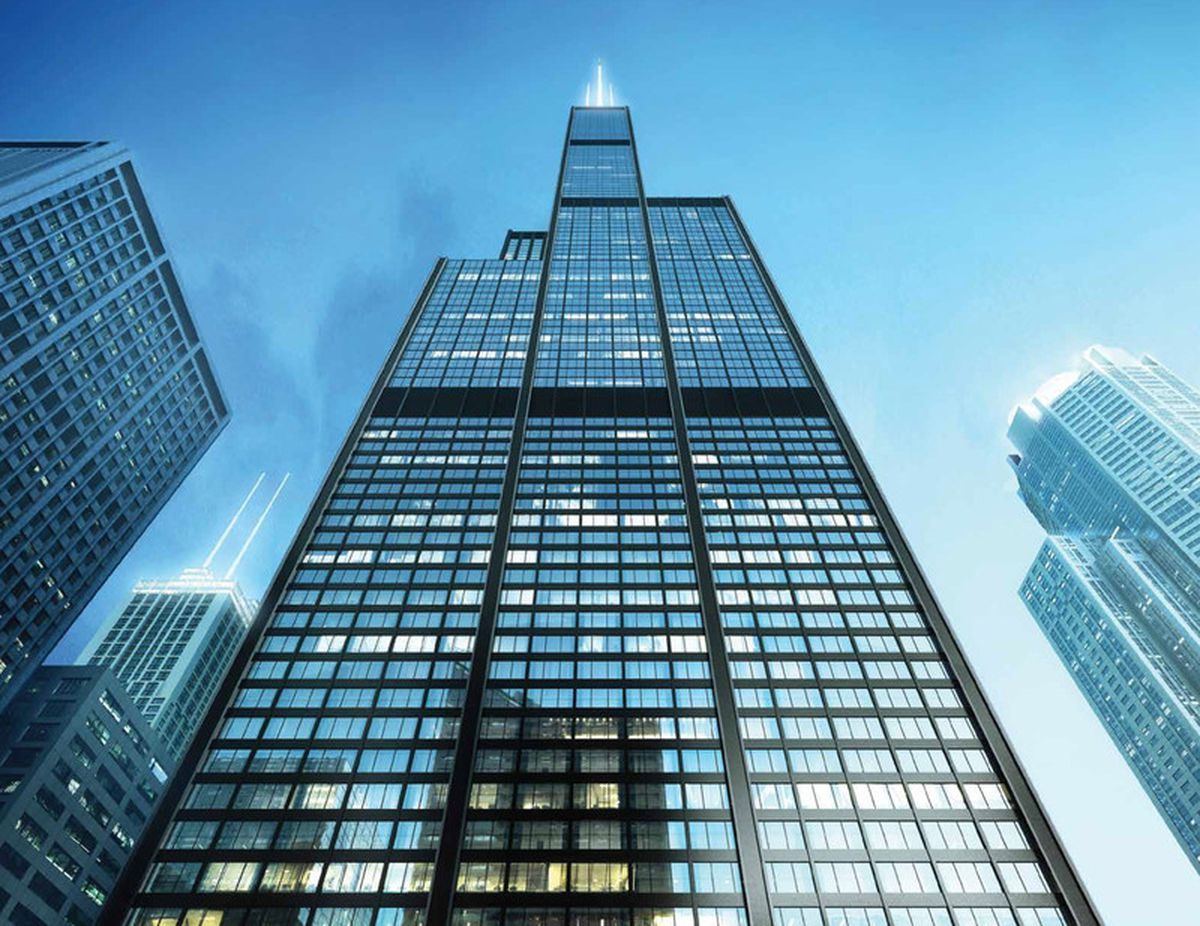 500m Willis Tower Overhaul Is Well Underway Curbed Chicago