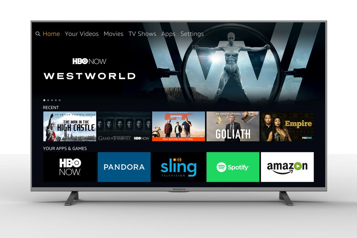 Amazon Fire Tv And Alexa Will Power New 4k Tvs From A Trio