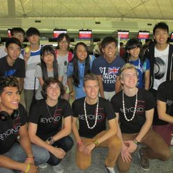 Beyond 5 recently returned from touring Asia.