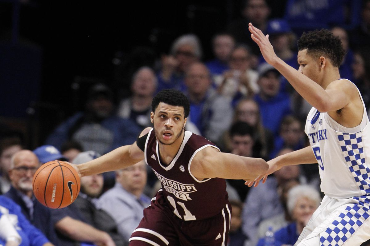 NCAA Basketball: Mississippi State at Kentucky