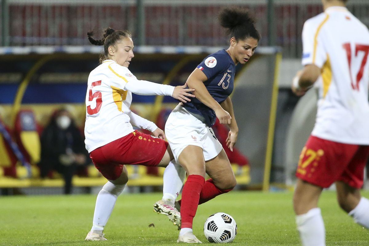 France Women v North Macedonia Women - UEFA Women's EURO 2022 Qualifier