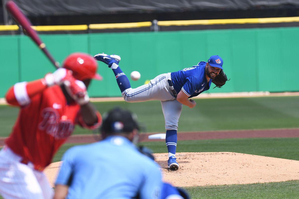 MLB: Toronto Blue Jays at Philadelphia Phillies