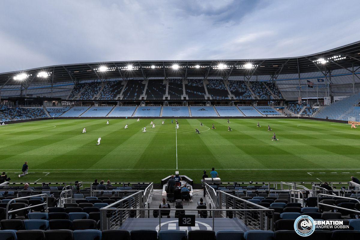 September 6, 2020 - Saint Paul, Minnesota, United States - Scenes during the Minnesota United vs Real Salt Lake match at Allianz Field.