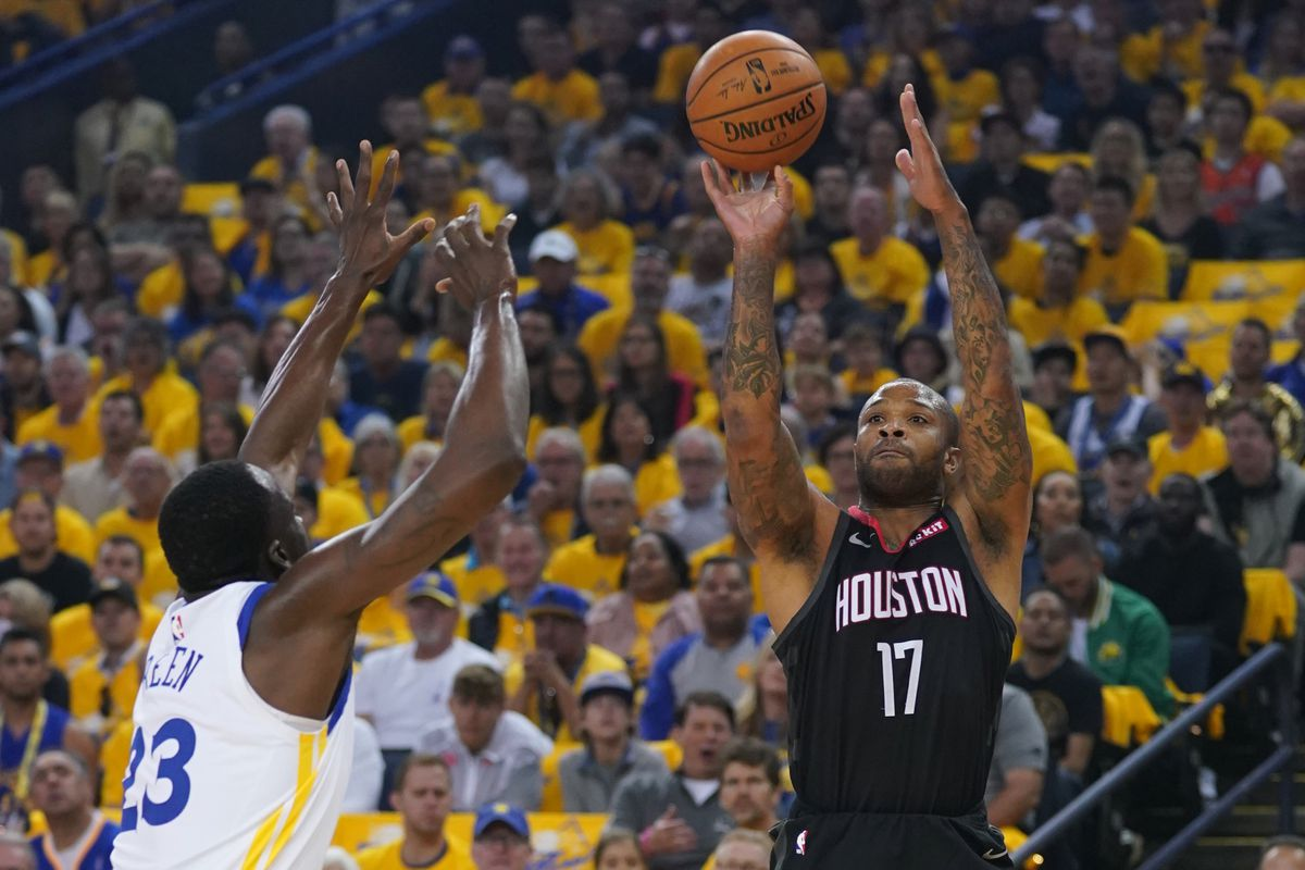 febe6355653 Houston Rockets vs. Golden State Warriors Game 2 preview - The Dream ...