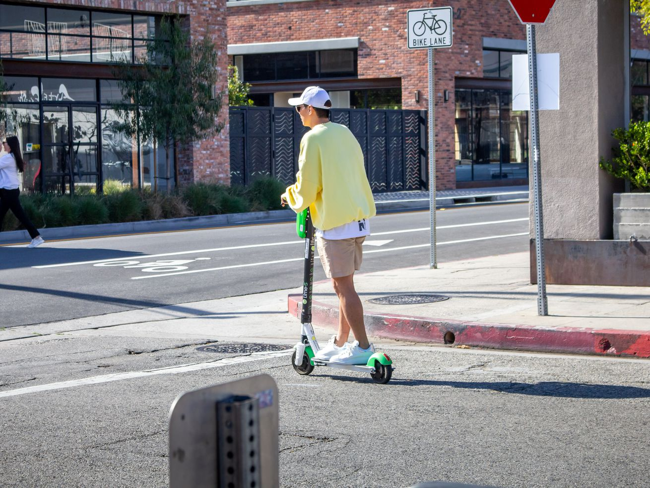 A pilot program regulating scooters in the city of Los Angeles began in March.