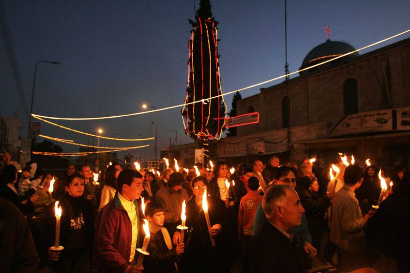 """GettyImages_78604851 """"We are living in a touristic prison"""": Palestinians on life in the holy city of Bethlehem"""