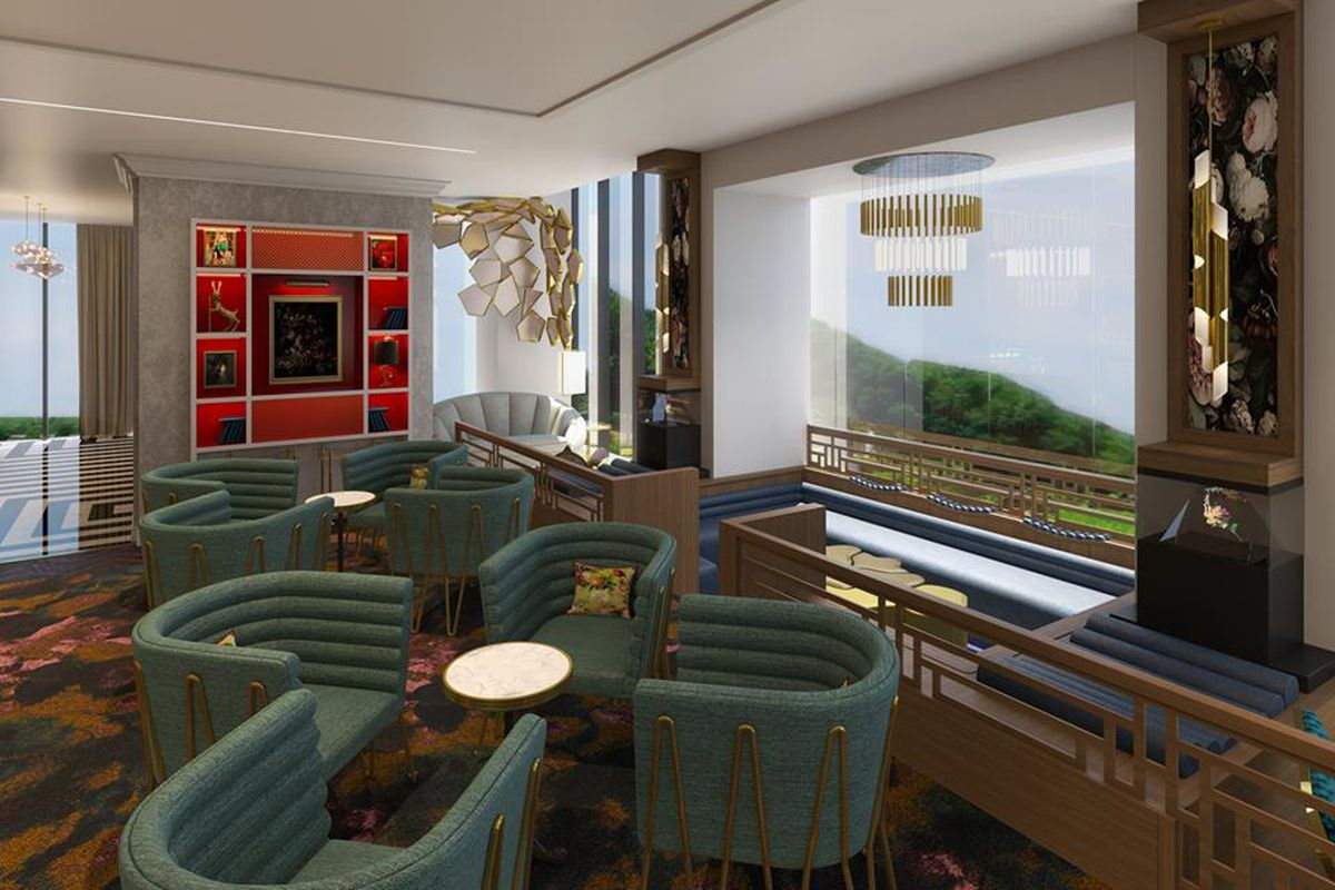 Sx Sky Lounge A Swanky Two Floor Bar With Views Is Coming To The South Loop Eater Chicago