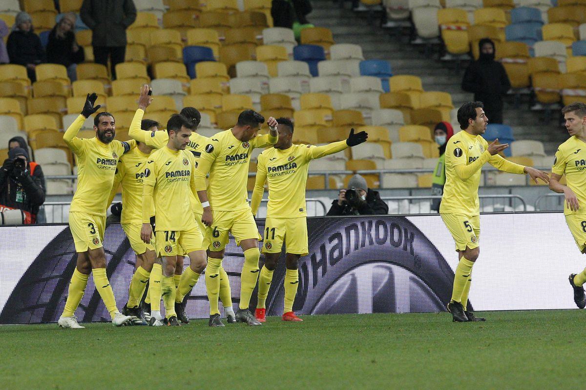 Dynamo Kyiv vs Villarreal - UEFA Europa League