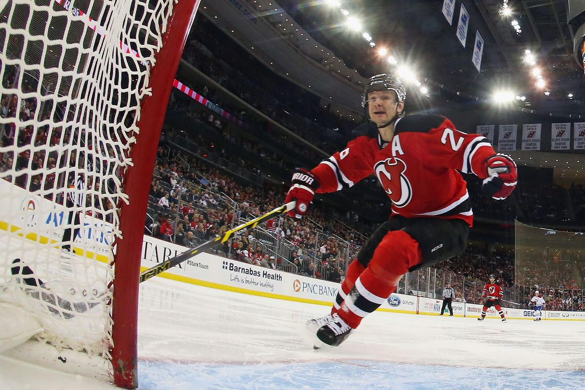 new style fb4f5 ce7f0 NHL Jerseys, Advertisements and the New Jersey Devils - All ...