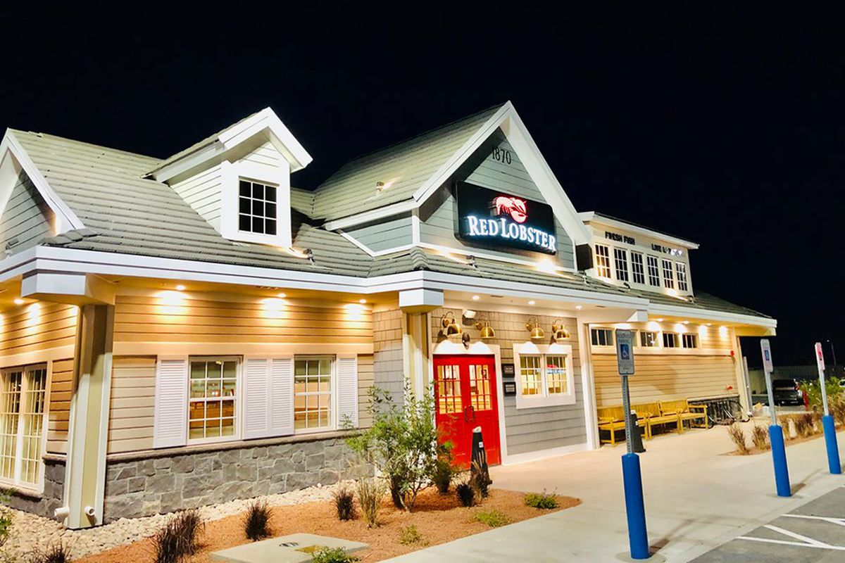 Exterior of the fourth local expansion for seafood chain Red Lobster.