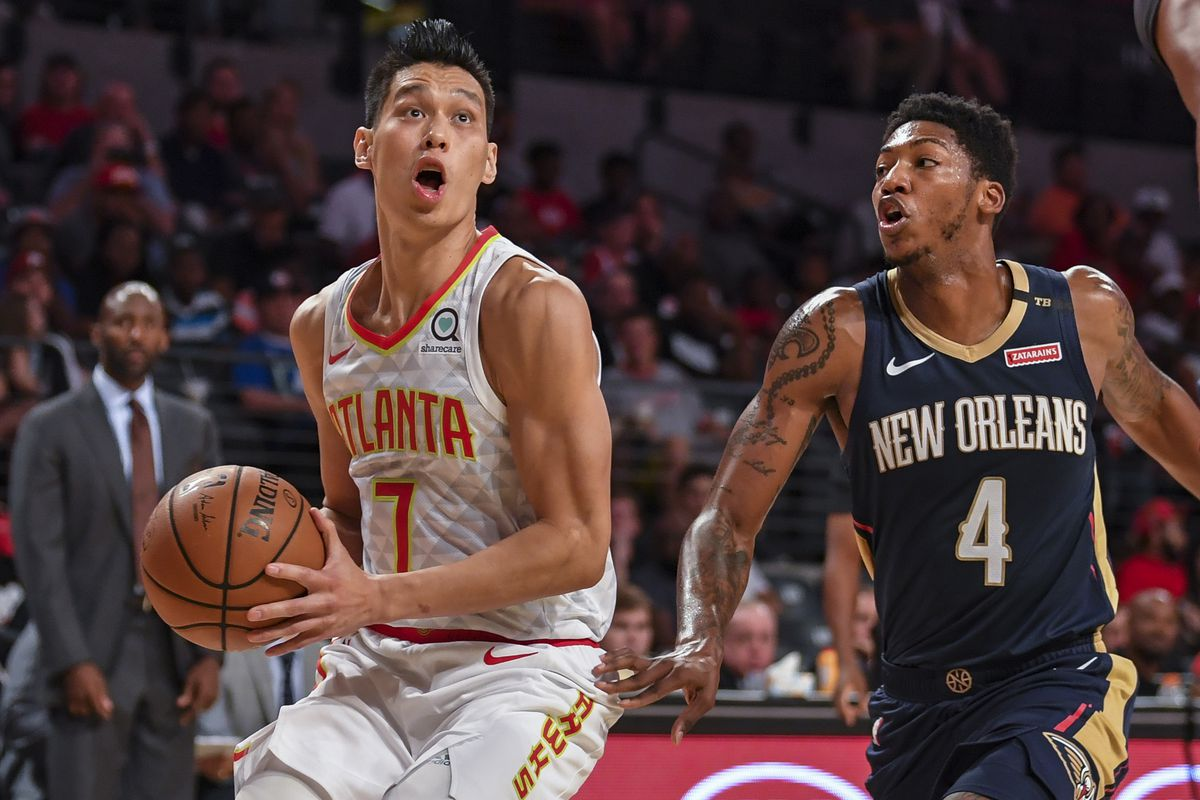 ed04ef628e8 New Orleans Pelicans should explore a trade with Atlanta Hawks for Jeremy  Lin - The Bird Writes