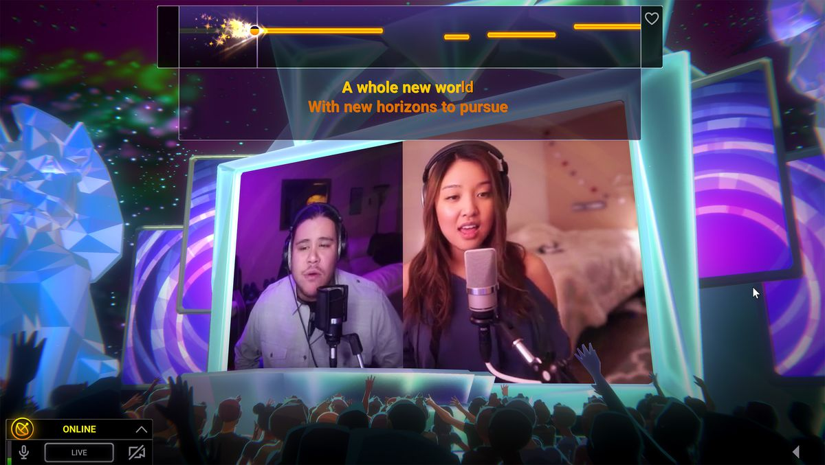 Twitch Sings - duet on 'A Whole New World'