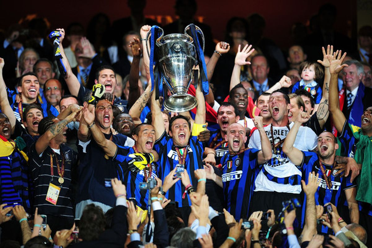An end of an era. Thank you and good luck to Javier Zanetti, Esteban Cambiasso, Diego Milito, and Walter Samuel.