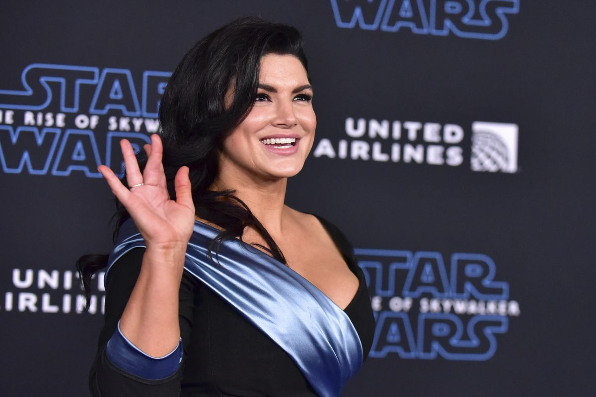 """Gina Carano. Premiere Of Disney's """"Star Wars: The Rise Of Skywalker"""" - Arrivals"""