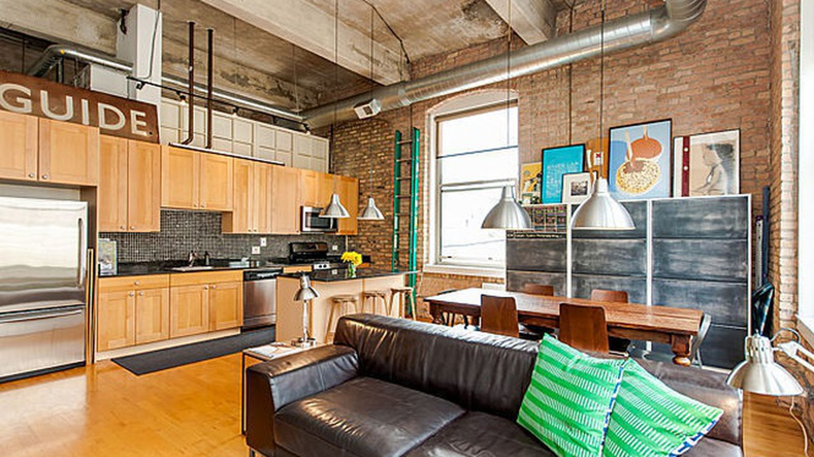 Prairie District Two Bedroom Industrial Loft Can Be Had