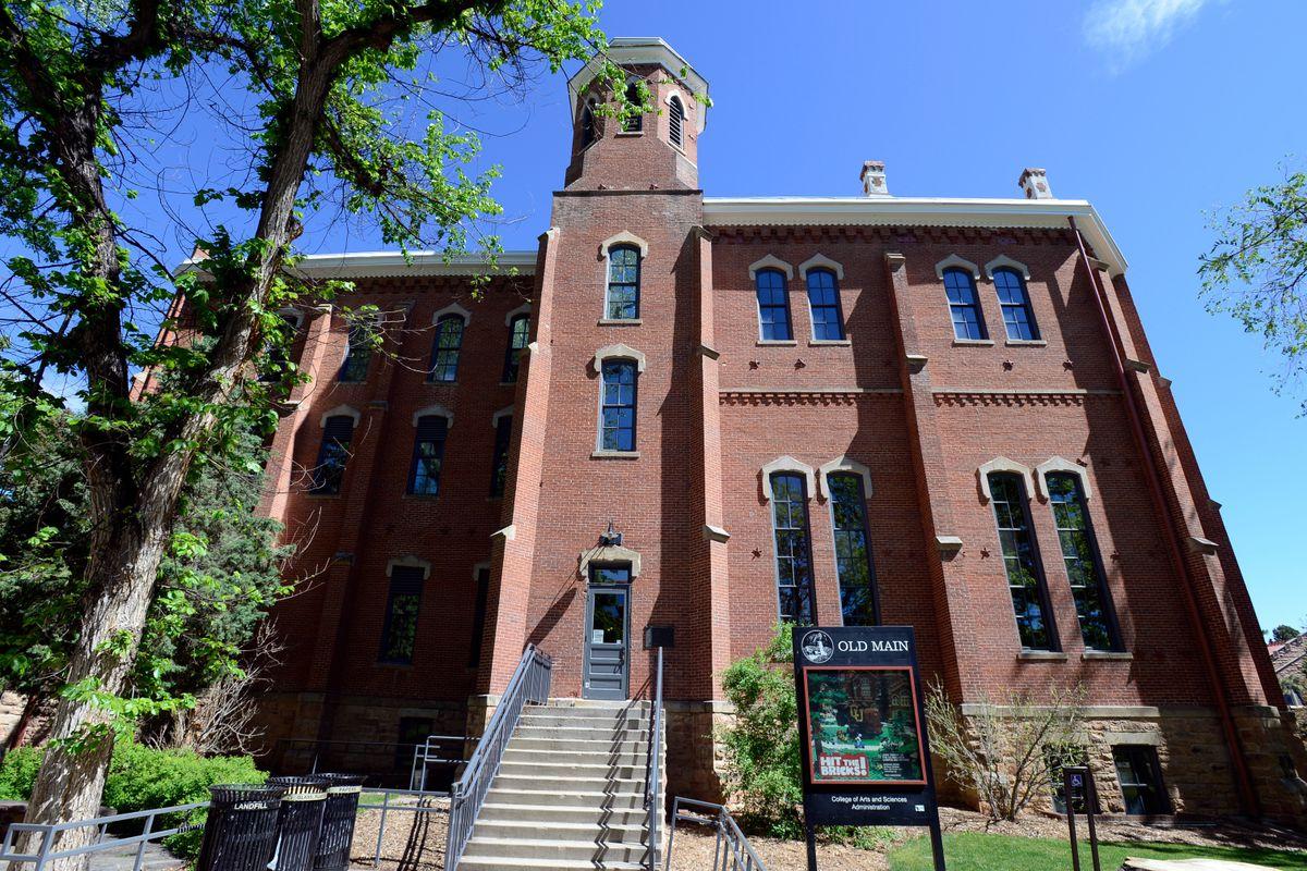 University of Colorado Old Main building.