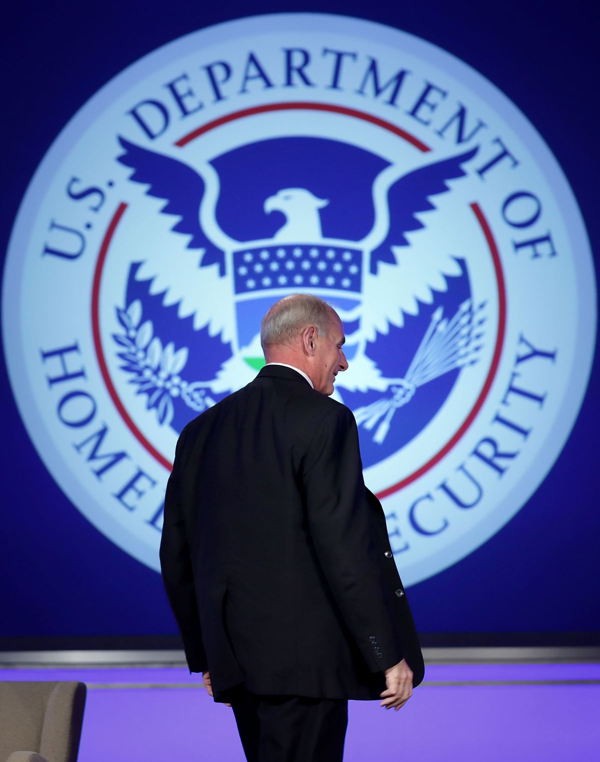 Homeland Security Secretary Kelly Delivers Remarks On Threats To U.S.