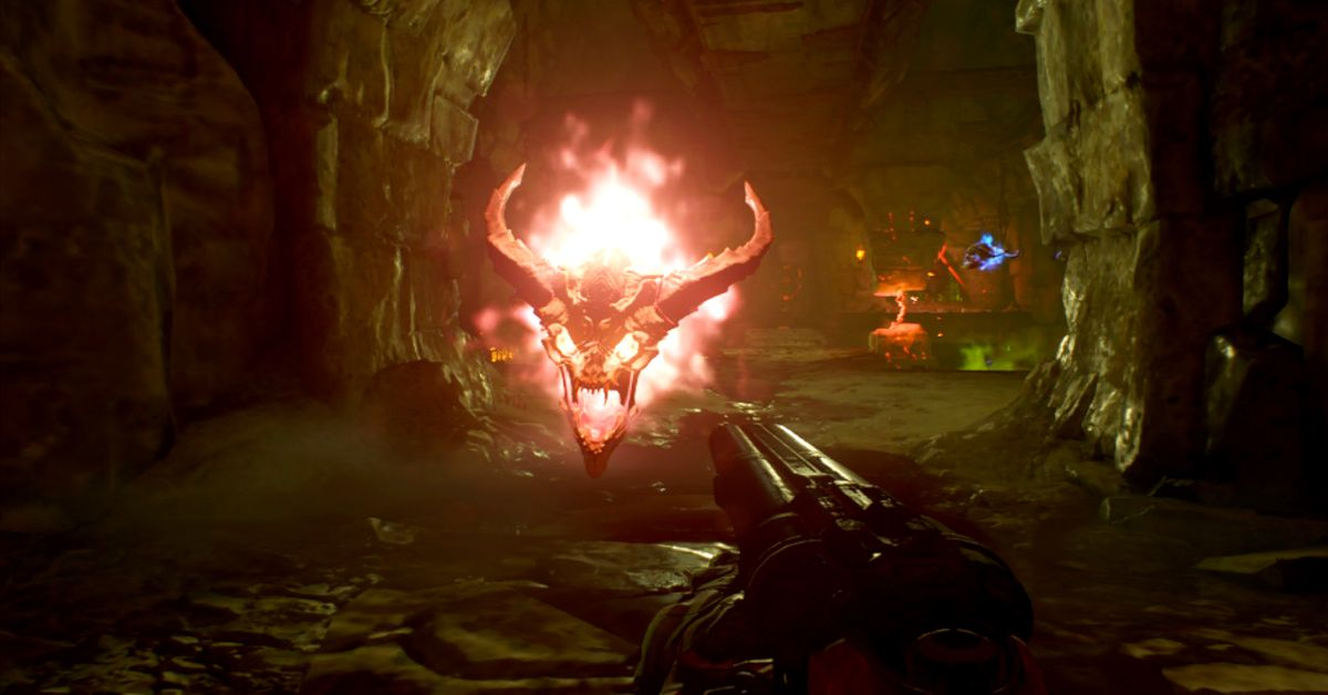 Doom on the Switch is real Doom ... on the Switch