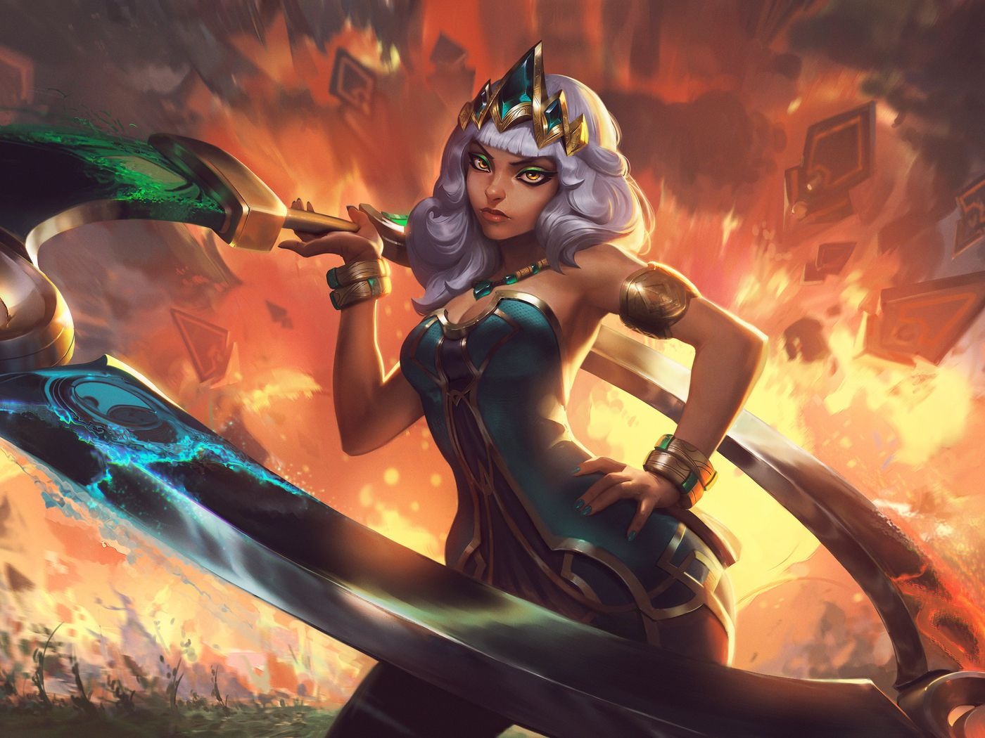 Qiyana champion guide: Collecting the elements - The Rift Herald