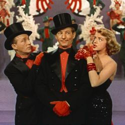 """Bing Crosby, Danny Kaye and Rosemary Clooney star in """"White Christmas."""""""