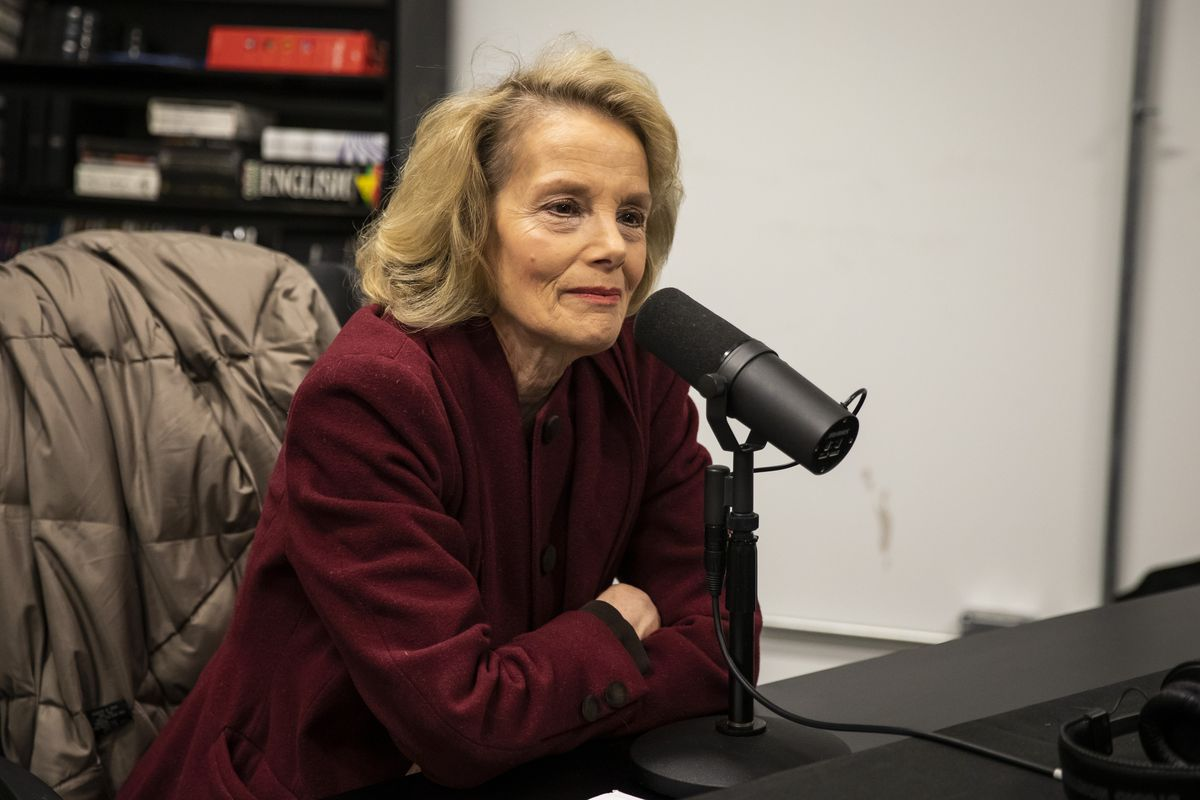 Chicago Sun-Times reporter Fran Spielman sits down for an end-of-year recap with Mark Brown and Tim Novak, Friday morning, Dec. 13, 2019.   Stefano Esposito/Sun-Times