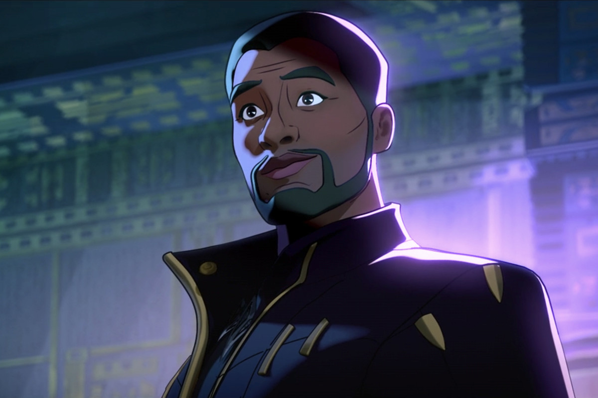 Chadwick Boseman loved What If...? and reimagining Black Panther's T'Challa  - Polygon